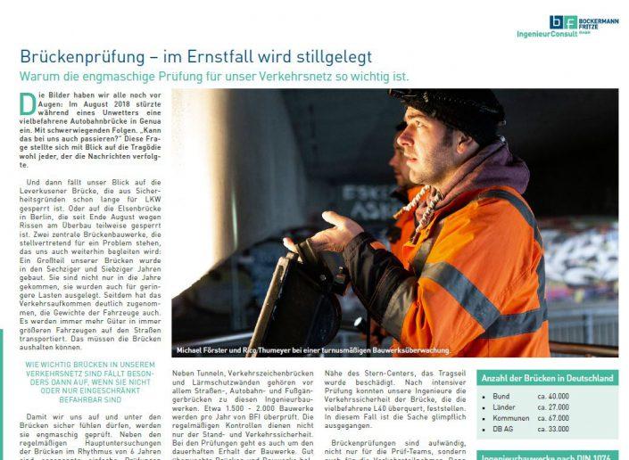 Texter Bielefeld: Referenz Bockermann und Fritze, Enger / Einige Texte des bf info stammen von Karin Dippel, Text-Agentur NA SO WAS