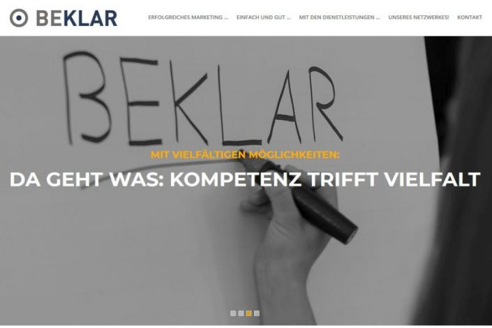 Texter Bielefeld: Referenz Marketingagentur Beklar / NA SO WAS